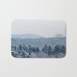 New England Snow Bath Mat