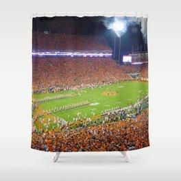 ... Clemson Tigers Ncaa Football Helmet Shower Curtain Bathroom Home Decor  · Ole ...