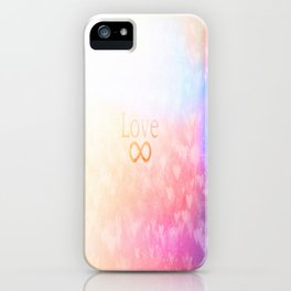 Infinate love  iPhone Case