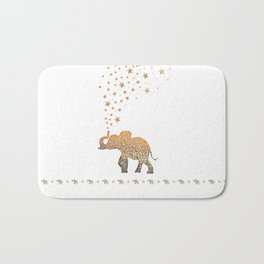 GOLD ELEPHANT Bath Mat
