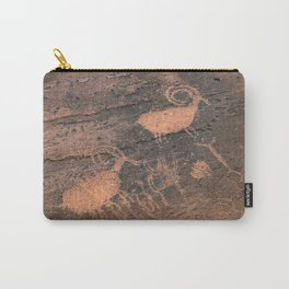 Desert Rock Art - Petroglyphs - II Carry-All Pouch