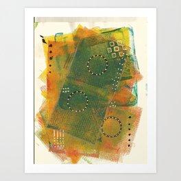 Layer Upon Layer Art Print