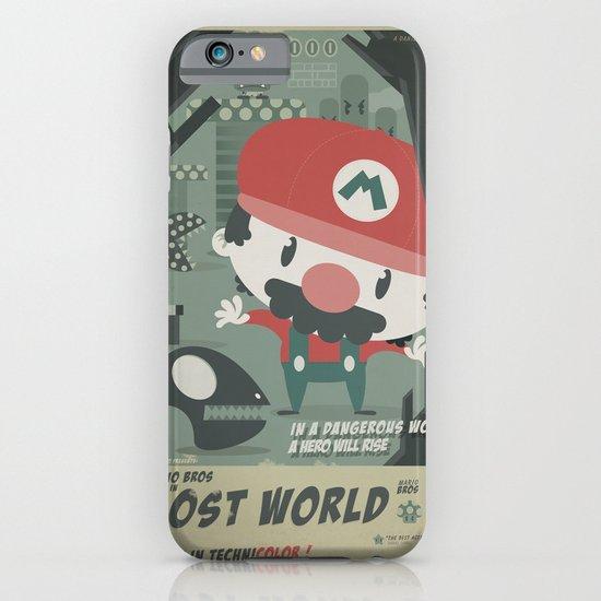 mario bros 4 fan art iPhone & iPod Case
