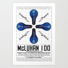 McLuhan 100  Art Print