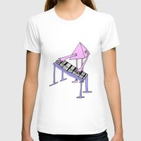 piano T-shirts featuring Piano by melanie johnsson