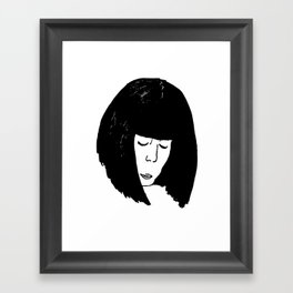 The Thinker Framed Art Print