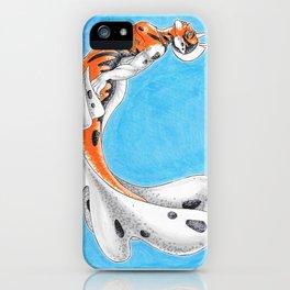Seaking Merman iPhone Case