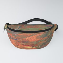 Lava and Green Fanny Pack