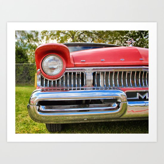 Up close and personal! Art Print