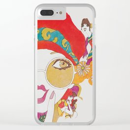 She's One Groovy Chick Clear iPhone Case