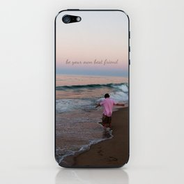 Carefree: Be Your Own Best Friend iPhone Skin