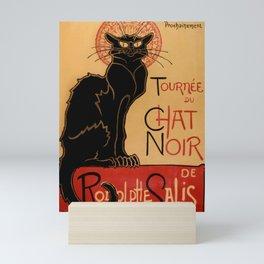 Tournée du Chat Noir de Rodolphe Salis (High Resolution) Mini Art Print