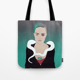 Ghost City Tote Bag