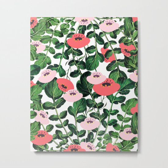 Parsnip & Poppies #society6 #decor #buyart Metal Print