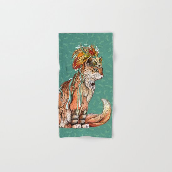 Witch Cat Hand & Bath Towel