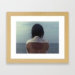 Yumi in Tottori Framed Art Print