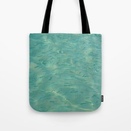 Swimming in the Clear Tropical Water Tote Bag