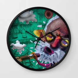 Sometimes a cigar is just a cigar Wall Clock