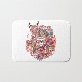 Ruzzi # 001 Bath Mat