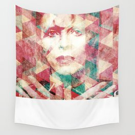 Bowie abstraction Wall Tapestry
