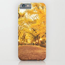 New York City Autumn iPhone Case