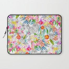 Tropical Botanical Sketchbook  Laptop Sleeve