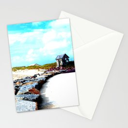 Normandy Beaches  Stationery Cards