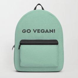 GO VEGAN! Backpack