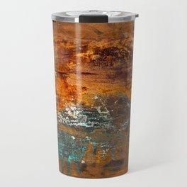 Rust Texture 2 Travel Mug