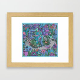 WinterWorld Framed Art Print