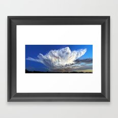 Monsoon 2015 Finale Framed Art Print