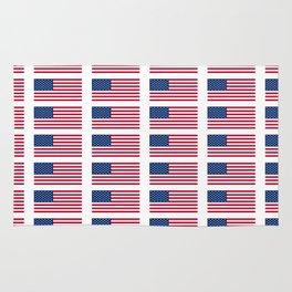 american flag 2-Usa,america,us,stars and strips, patriotic,patriot,united states,american,spangled Rug