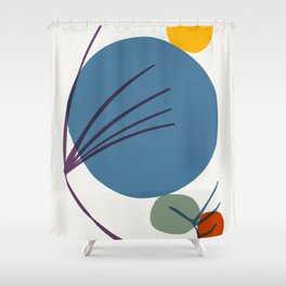 modern zen Shower Curtain