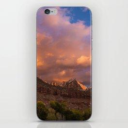 Zion Sunrise iPhone Skin
