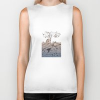 narwhal Biker Tanks featuring Narwhal by Judit Canela