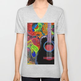 """Electrical Chord"" Unisex V-Neck"