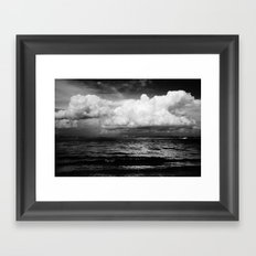 Clouds over the Causeway Framed Art Print