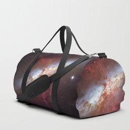 Starburst Galaxy M82 Duffle Bag