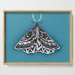 Moth Horns Serving Tray