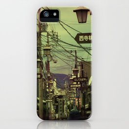 Wired City iPhone Case