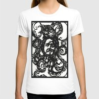 christian T-shirts featuring Christian by Hanna Virdarson