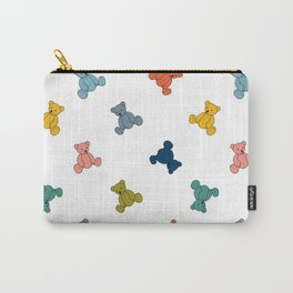 Teddy Bears Pattern Carry-All Pouch