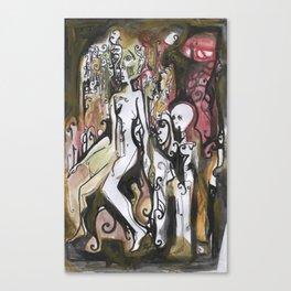 Pedestal Canvas Print