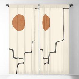 Minimalist Abstract 38 Blackout Curtain