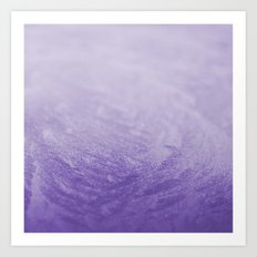 Grape Frost Art Print