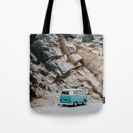 Classic Campervan Adventures Tote Bag