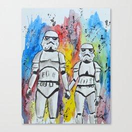 Troop Love Canvas Print