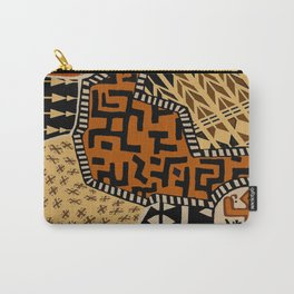 African Tribal Earth Spirits Carry-All Pouch