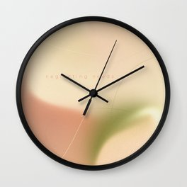 _ neglecting needs Wall Clock