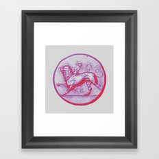 Peloponnesian Coin No. 2 Framed Art Print